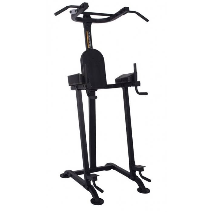 Aparat Power Tower pentru tractiuni, triceps si abdomen, P-BT16, Powertec imagine