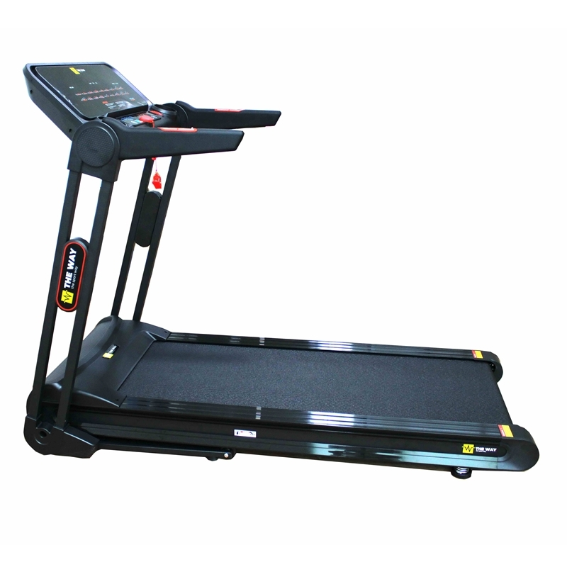 Banda de alergat pliabila, 2.25 CP, 120 kg, 16 KM/H, TheWay Fitness imagine