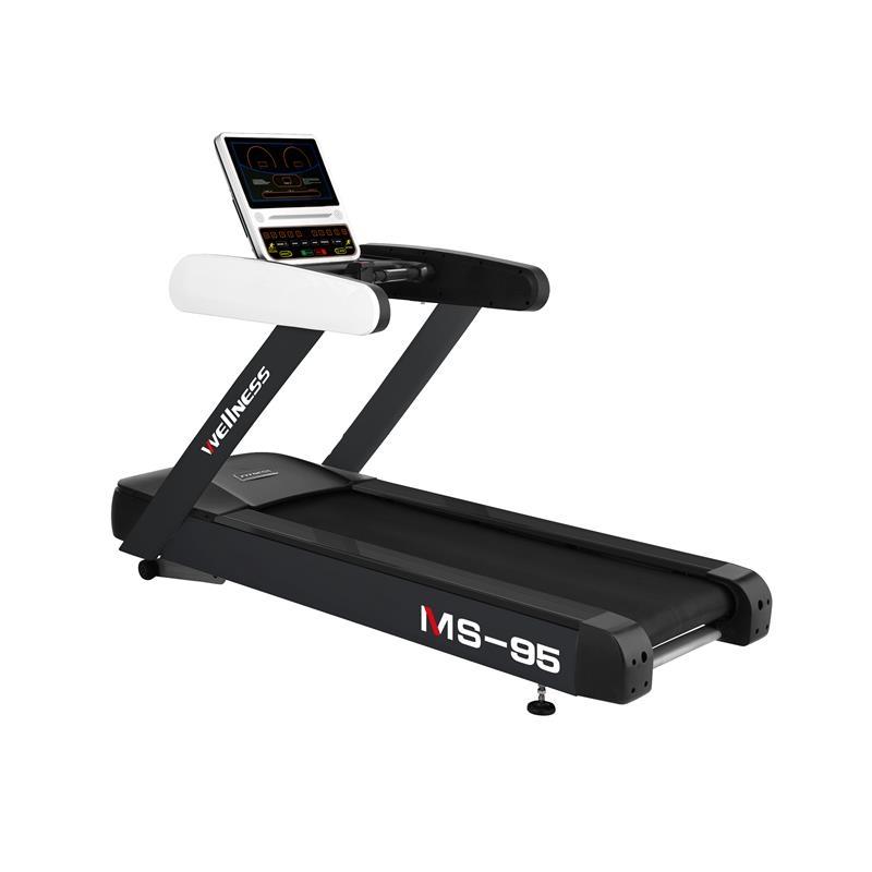 Banda de alergare comerciala MS95-LED, 20 km/h, 150 kg, inclinatie 20%, MS Fitness imagine
