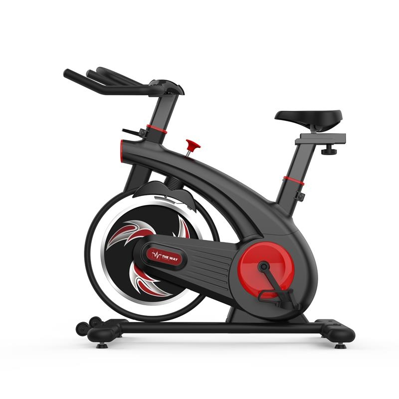 Bicicleta spinning Indoor Cycling, Volanta 8 kg, TheWay Fitness Resigilat imagine