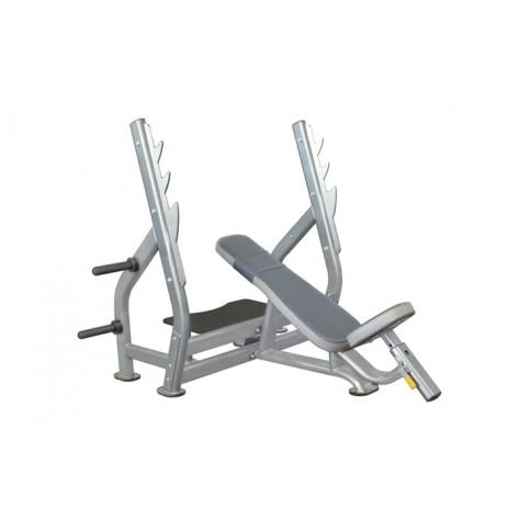 Banca piept inclinata cu suport pentru bara IT 7015 Impulse Fitness