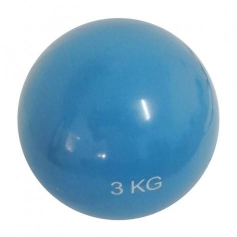 minge yoga 3 kg albastru