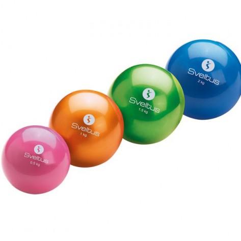 Minge fitness 0,5 - 2 kg SVELTUS