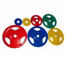 discuri olimpice colorate
