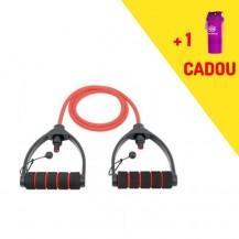 Tub elastic cu manere ajustabile Iron Gym