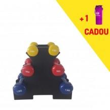 set gantere aerobic + smartshake cadou