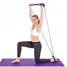 Bara fitness cu corzi elastice ajustabile, YJB001-2, Hiperlion