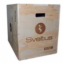 Cutie pliometrica din lemn Sveltus