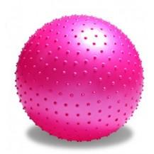 Minge de gimnastica cu puncte de masaj Dayu Fitness 65 cm