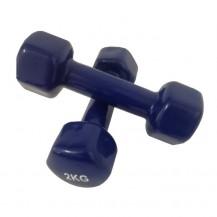 Set gantere epoxy 2 x 2 kg Dayu Fitness