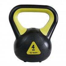 Gantere Kettlebell, 2 kg, 4 kg, 6 kg, 8 kg, Vinil, TheWay Fitness