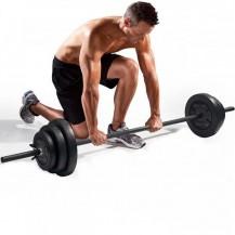 Haltera bara +discuri 19,5 kg Dayu Fitness