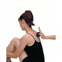 Minge masaj si recuperare mana, 9 cm, gri, Dayu Fitness
