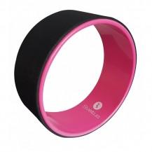 Roata Yoga 33 cm, roz, Sveltus