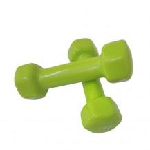 Set gantere vinil 2x1kg Dayu Fitness