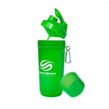 Shaker suplimente SmartShake 500 ml, verde