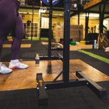 Suport bara Half-Rack independent, 120 kg, Sveltus