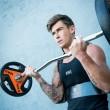 Izolator biceps Arm blaster, Sveltus