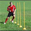 Stalp slalom pentru agilitate 150 x 2,5 cm Dayu Fitness