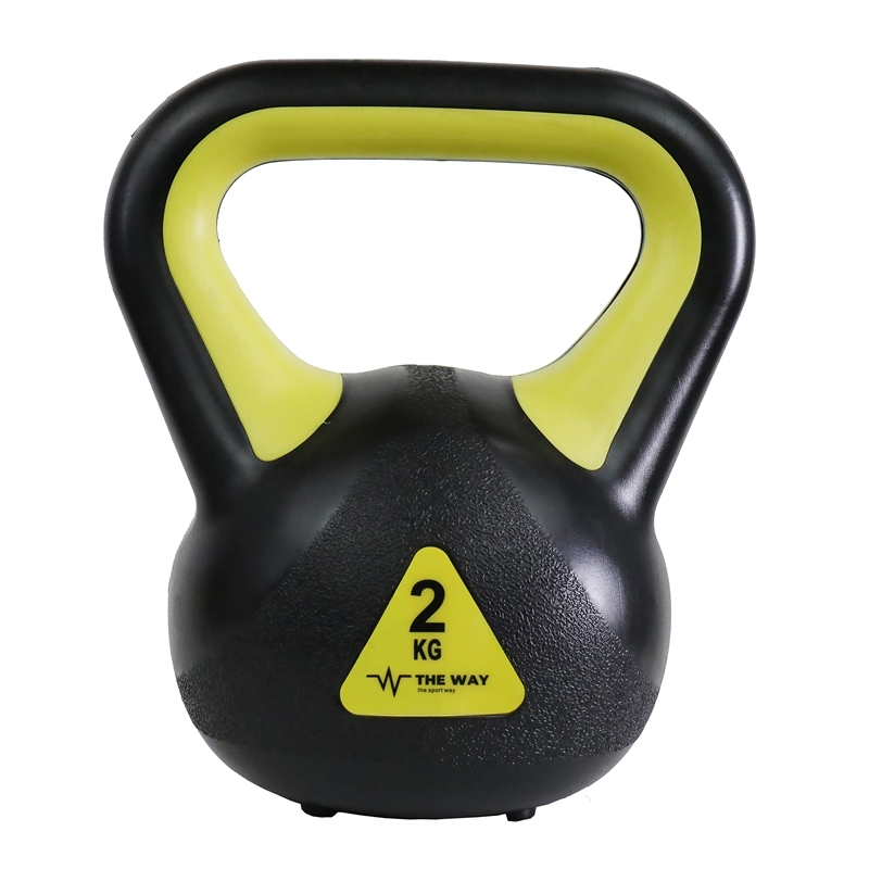 Gantere Kettlebell, 2 kg, 4 kg, 6 kg, 8 kg, Vinil, TheWay Fitness imagine