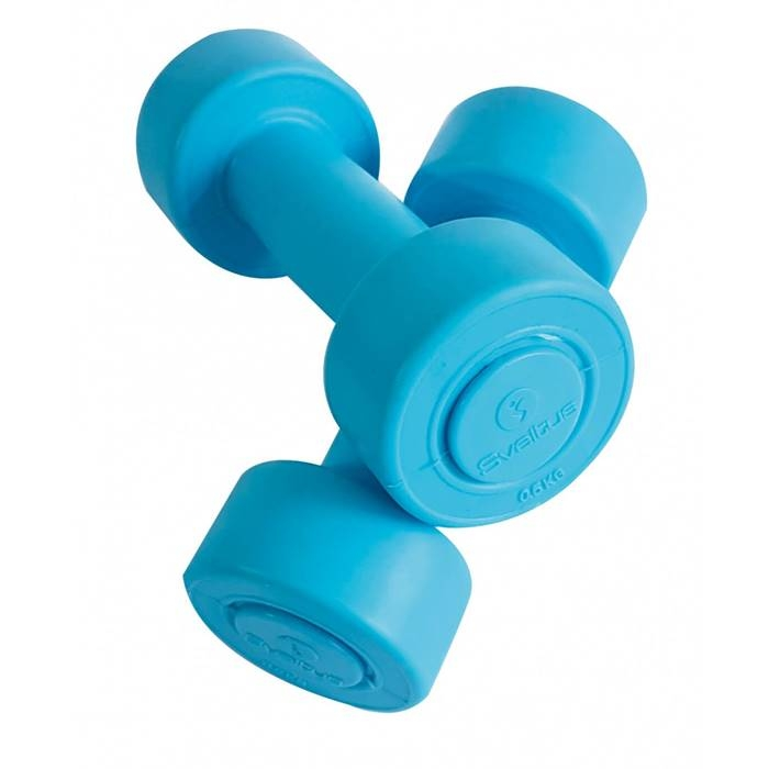 Set gantere aerobic vinil 0,5 - 5 kg SVELTUS imagine