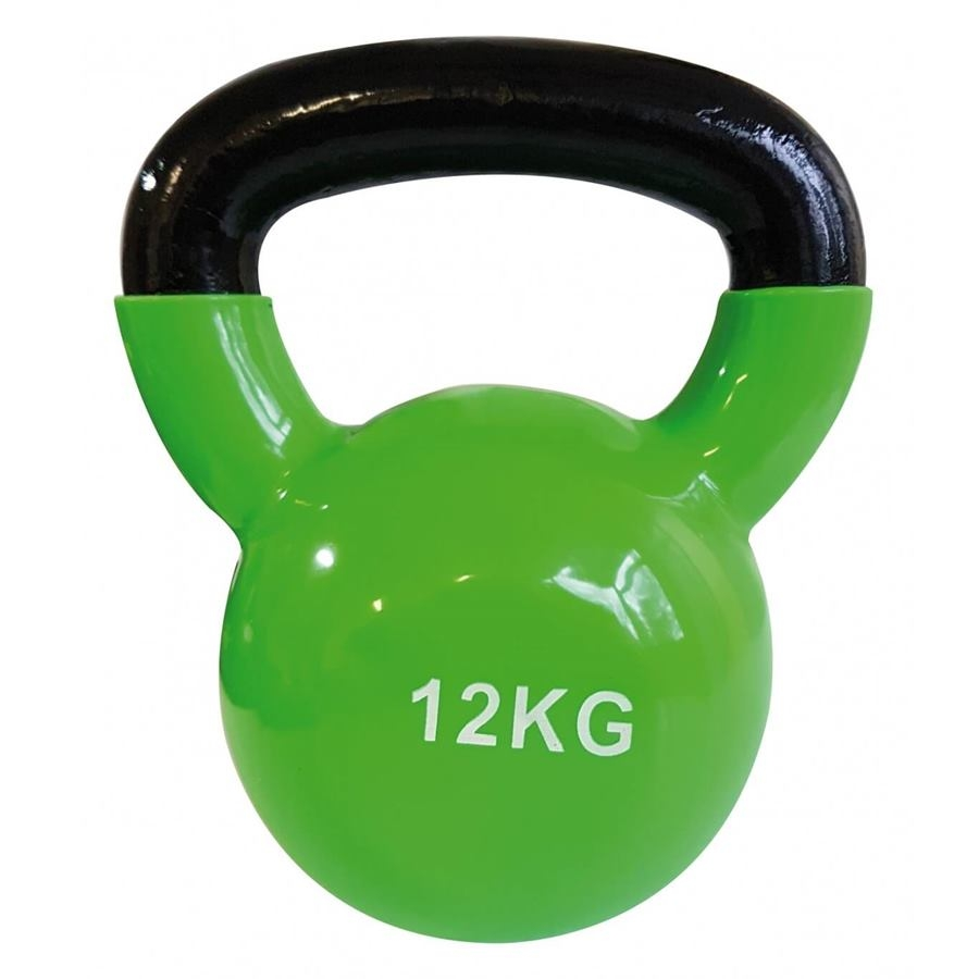 Gantera kettlebel 12 kg, verde, Sveltus imagine