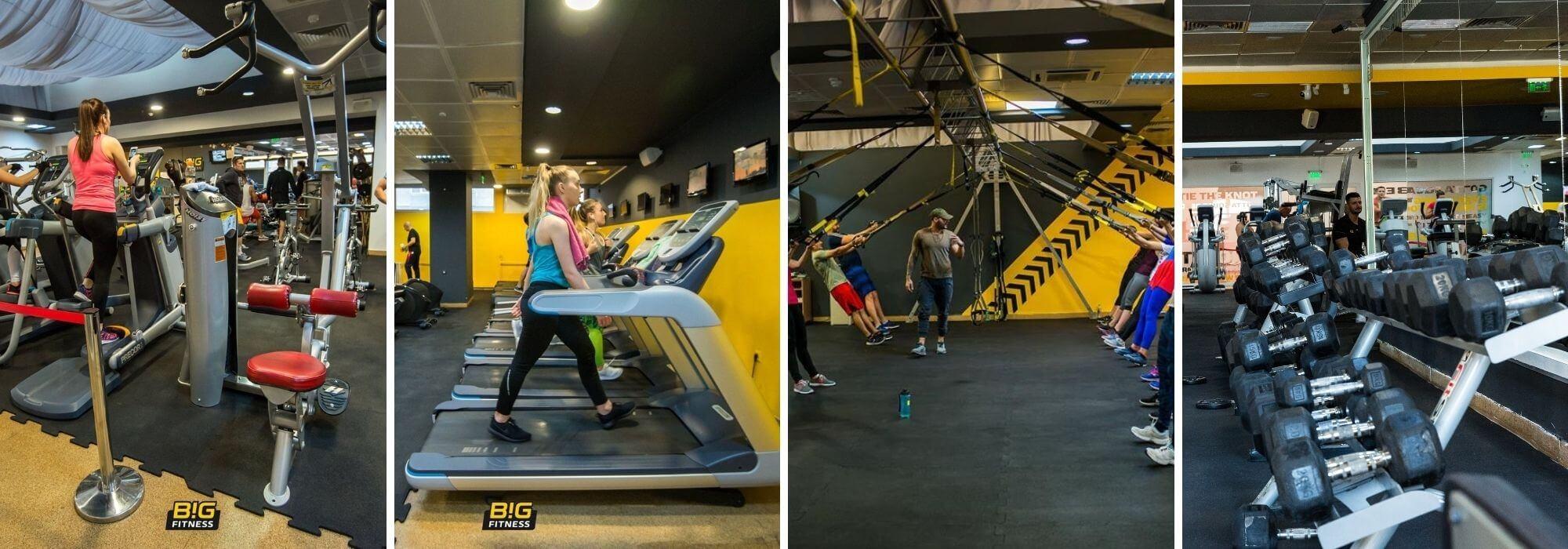 echipare sala fitness cluj
